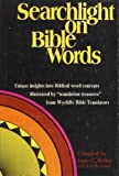 img - for Searchlight on Bible Words book / textbook / text book