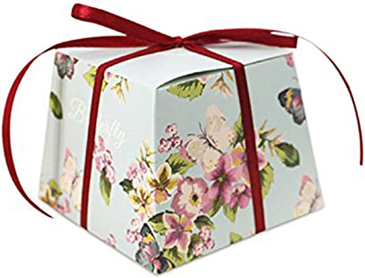Nubstoer - 30 Cajas de Caramelos de Flores Vintage para Boda, Regalo de bonificación, Fiesta de cumpleaños, decoración, Color Azul: Amazon.es: Hogar