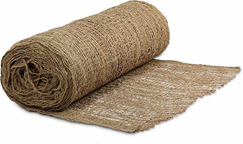 Mutual 17685 Jute Mesh Blanket, 225' Length X 4' Width by Mutual Industries