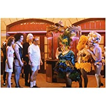 The Drew Carey Show (TV Series 1995 - 2004) 8 inch by 10 inch PHOTOGRAPH from Slide Cast Dressed Like Characters from Rocky Horror Picture Show kn