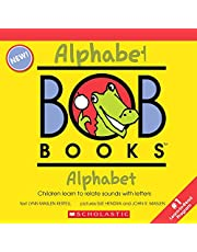 My First Bob Books - Alphabet Box Set   Phonics, Letter sounds, Ages 3 and up, Pre-K (Reading Readiness)