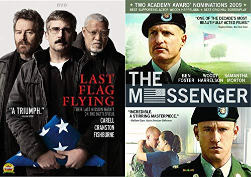 - Their Last Mission Wasn't On The Battlefield: The Messenger & Last Flag Flying 2-DVD Movie Bundle