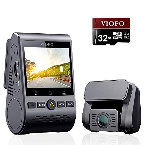 VIOFO A129 Duo Dash Cam Dual Camera Front and Rear Full HD 1