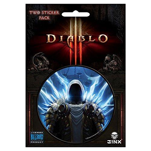 JINX Diablo III Tyrael Sticker, Multi-Colored, 3