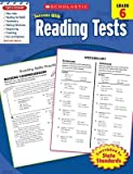 img - for Reading Tests Grade 6[SCHOLASTIC SUCCESS W/REA-GRD 6][Paperback] book / textbook / text book