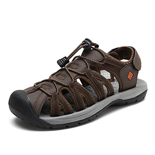 Pairs 160912 Men's Summer M BROWN BLK Outdoor NEW Adventurous ORANGE Dream Sandals danw1Zxd