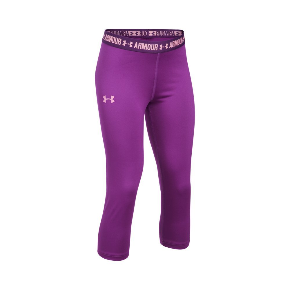 Under Armour UA HeatGear Armour Solid YMD Purple Rave