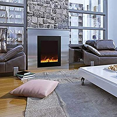 Amantii Zero Series Built-in Electric Fireplace (ZECL-2939-BG), 25-Inch