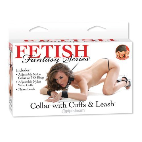 Pipedream Products Fetish Fantasy Series Collar With Cuffs and Leash