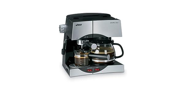 Ufesa CK7345 - Máquina de café (1500 W, 220, 240 MB/s, 50 Hz, 315 ...