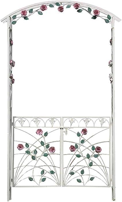 YICOL Arco de Rosas Estilo Rústico 3D Flores Terraza Ornament ...