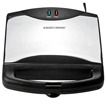 Black & Decker G605SB 600W Acero inoxidable - Sandwichera ...