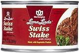 Loma Linda Swiss Steak with Gravy - 13 oz - 6 Pack