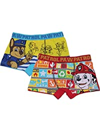 Paw Patrol Boys Childrens Two Pack Boxers Underwear Set by BestTrend