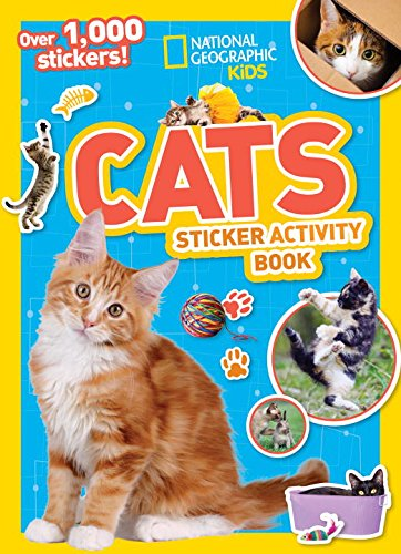 National Geographic Kids Cats Sticker Activity Book (NG Sticker Activity (Drawing Ideas For Kids Halloween)