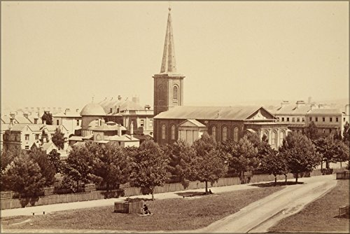 24x36 Poster; St James'S Church, From Hyde Park, Sydneyphotographic Views Of Sydney And Surrounding Country. New South Wales - Stores Church Sydney