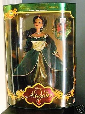 Disney Aladdin Holiday 1999 Princess Jasmine Doll ()