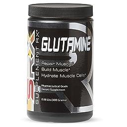 Supplement Rx - Glutamine Powder, Pharmaceutical Grade, 400g