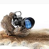 Terminus Optics Black Chevron AS1 Reticle Red Fiber 4x32 Magnification Rifle Scope Terminus LLC …