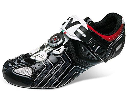 Vittoria Hora Cycling Shoes, Gloss Black, 41 EU/8 D US