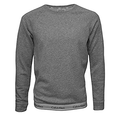 Calvin Klein Classic Logo Waist Men's Sweatshirt, Grey Heather