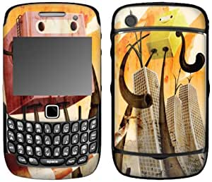MusicSkins, MS-SHRP90044, Sharp Shirter - Whoop Whoop, BlackBerry Curve (8520/8530), Skin