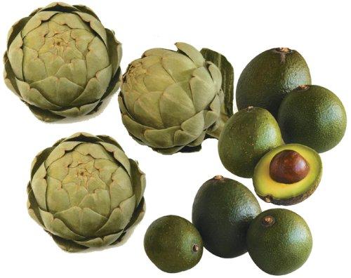 Avocado & Artichoke Party Box