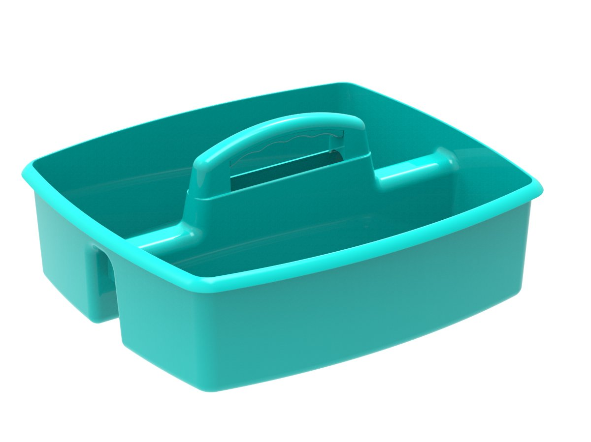 Storex Storex Large Classroom Caddy,13 x 11 x 6.575 Inches Teal 00959U06C Case of 6