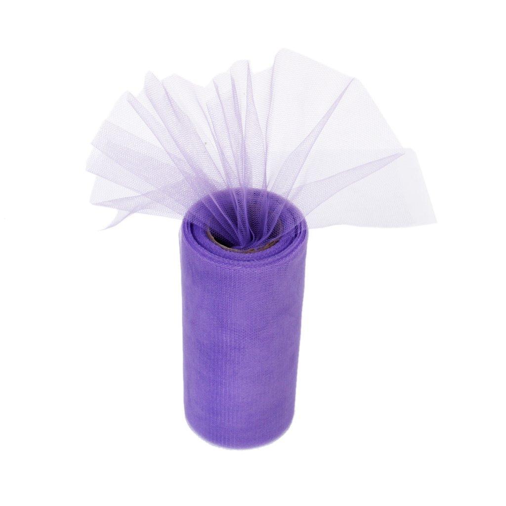 Zentto gonne rotolo di tulle per regali l x h fiocchi tut/ù Poliestere Blue 1 rotolo da 22 m x 15 cm 22m*15cm decorazioni per feste di nozze