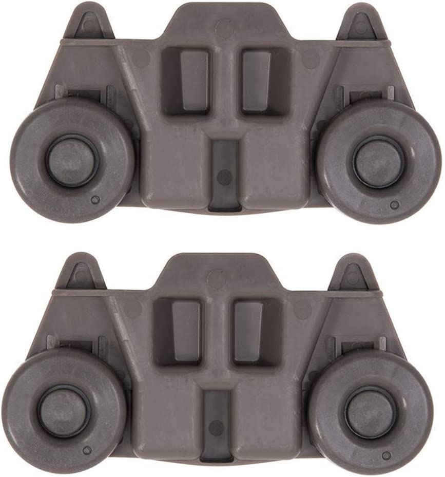 2 PCS Dishwasher Lower Wheels W10195416 - Dishwasher Wheel Replacement Parts for Whirlpool/Maytag/KitchenAid/Kenmore - Dish Rack Parts Replace AP5983730, W10195416V, PS11722152, W10195416 51-yzTtMwUL