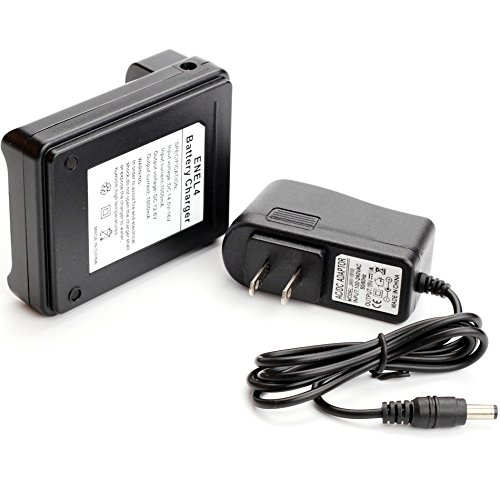 Antoble EN-EL4 EN-EL4a EN-EL4e Battery Charger MH-21 MH-22 Replacement for Nikon D3x D3 D2Xs D2X D2Hs D2H F6 MB-D10 Camera
