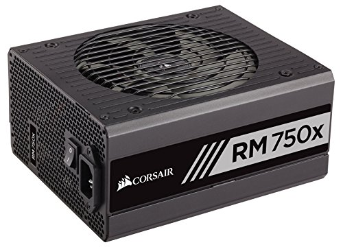 Corsair RMX Series, RM750x, 750 Watt, Fully Modular Power Supply, 80+ Gold Certified by Corsair