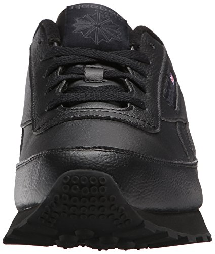 Renaissance black Reebok Baskets Classic Us dhg Grey Solid Cuir Large AnW1ngq