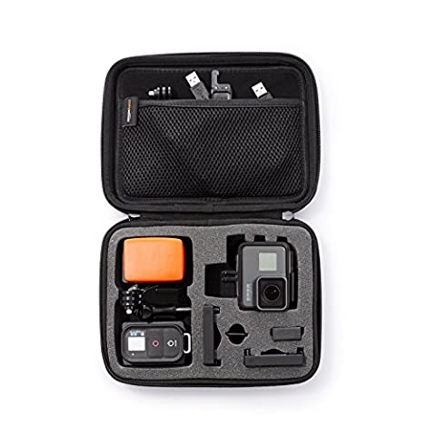 AmazonBasics Carrying Case for GoPro - Small (Gopro Case And Accessories)