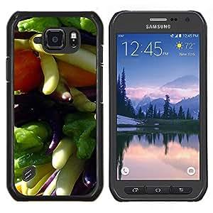 LECELL--Funda protectora / Cubierta / Piel For Samsung Galaxy S6Active Active G890A -- Planta Naturaleza Forrest Flor 36 --