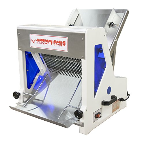 American Eagle Food Machinery AE-BS06-3/4 Bread Slicer gravity assisted style, 3/4'' slice, 1/4 hp, loaf max length 15 1/4'' by American Eagle Food Machinery