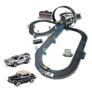 Amazon.com: Back To The Future Electric Slot Car Race Set