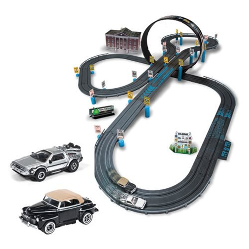 Back to the Future Electric Slot Car Race Set (Futuro Set)