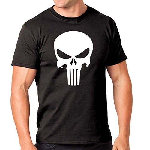 Choice4ever The Punisher Movie Logo Mens T-Shirt (Large)