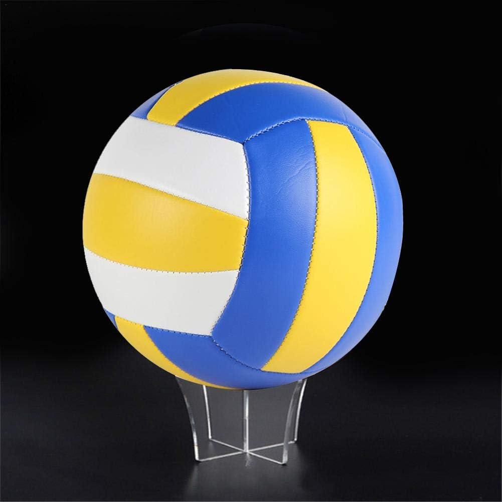 American Football Basketball Fu/ßballst/änder Halter Geeignet f/ür Basketball Volleyball Luminiu Ball Display St/änder Acryl Ballhalter Fu/ßball