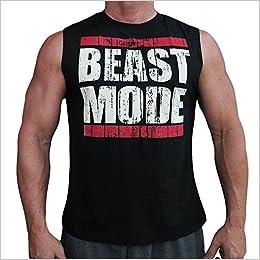9b43b5878d09f8 Amazon.com  CRAZYBODIES Vintage Mens Fitness Workout Tank Top