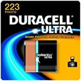 Duracell DL223ABPK Ultra High Power Lithium Battery, 223, 6V, 1/EA
