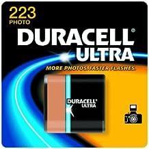 Duracell DL223ABPK Ultra High Power Lithium Battery, 223, 6V, 1/EA