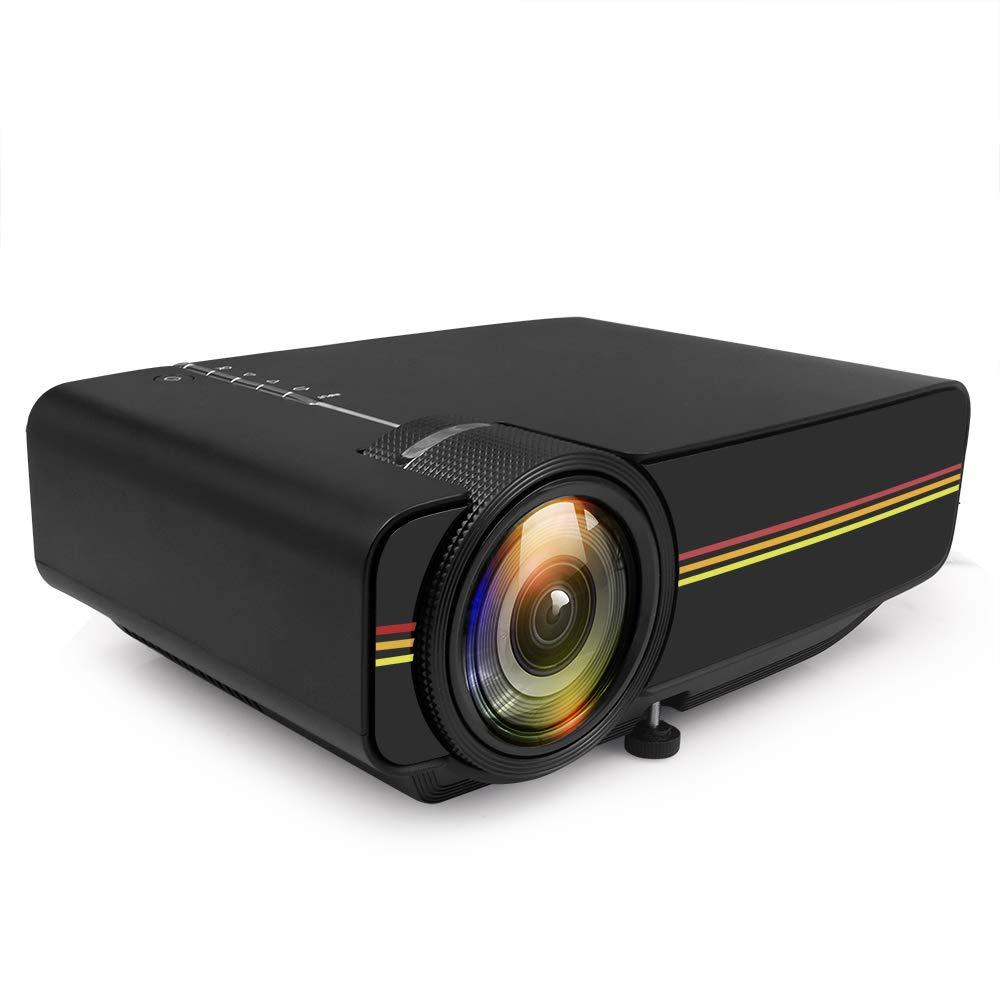 YSCCSY Mini proyector para Videojuegos Proyector de TV Proyector ...