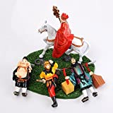 JuanRen Chinese style handicrafts / Ancient( Journey to the west ) dolls / home living room TV cabinet decorations / ornaments /desk accessories toys / gifts