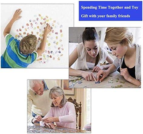 AMYHY Tanz des Meeres Puzzles for Erwachsene Kinder 1000 Stück, Fun Challenge-Puzzles, Sammler Anzeige und Spielzeug