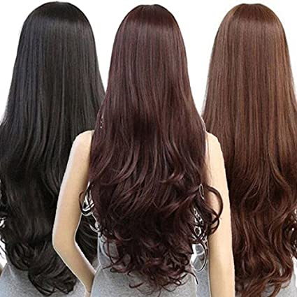 Artifice 5 Clips Curly Step Cut Hair Extension High Temperature