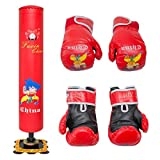 Kids/Junior Boxing Punch bag Set FREE STANDING BOXING PUNCH BAG + Gloves VIPER by Viper