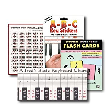 Amazon.com: All Ages Beginning Piano Pack - 4 item set - Includes ...