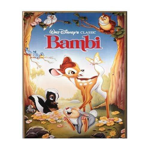 Bambi Wood Wall Art